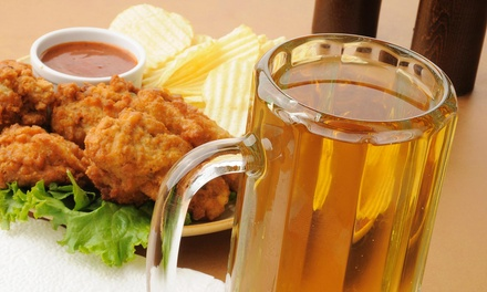 $10 for $20 Worth of SportsBar Food  No Name Saloon