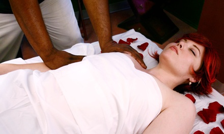 Up to 81% Off Massage with Aromatherapy