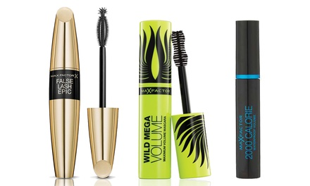 Set van 3 Max Factor mascara's