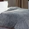 Lavish Home Fleece Blankets with Sherpa Backing