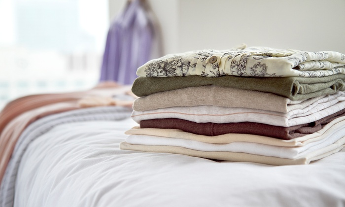 Eco Bubbles Laundry - Leominster: Wash, Dry, and Fold of 20 or 40 Pounds of Laundry or Ironing of 20 Garments at Eco Bubbles Laundry (50% Off)