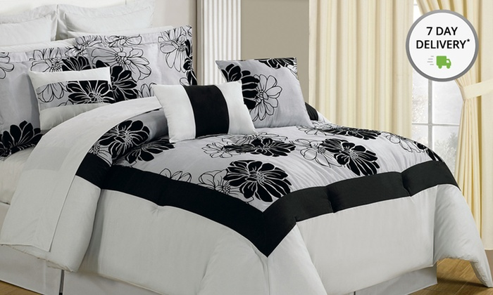 24- or 25-Piece Bedroom-in-a-Bag Sets: 24- or 25-Piece Room-in-a-Bag Bedroom Sets. Multiple Styles Available. Free Returns.