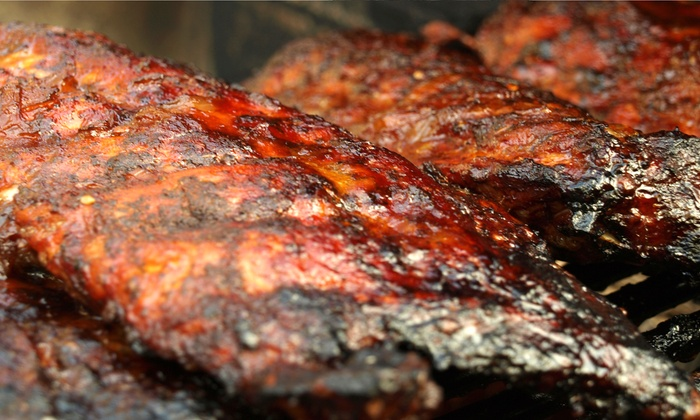 Bourbon BBQ & Catering - Wyckoff: Barbecue Sampler Plate or Prix Fixe Meal for Two Sunday–Friday or Saturday at Bourbon BBQ & Catering (Up to 54% Off)