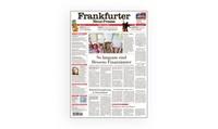 14 Tage Gratis-Leseprobe einer regionalen Tageszeitung in Frankfurt