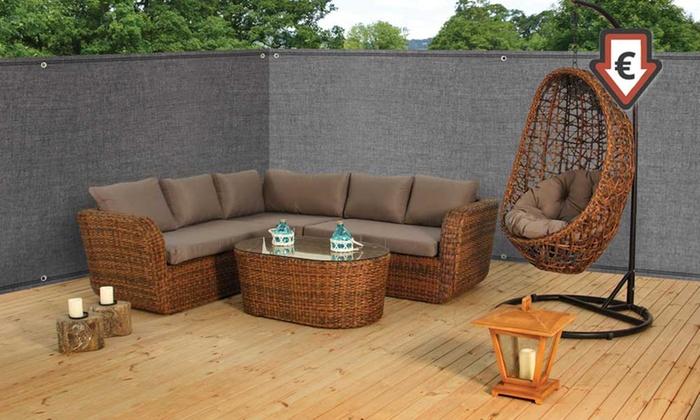 1 2 ou 3 brises vue gris pour jardins terrasses et balcons dimensions au choix dès 990€ (jusquà 67% de rduction)