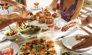 Lavish Desserts and Tapas: Choice of Tapas Tasting Platters from R179 for Four with Lavish Desserts and Tapas