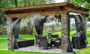 Mist Cooling Inc: $360 for Patio-Cooling Mister System from Mist Cooling Inc. ($600 Value)
