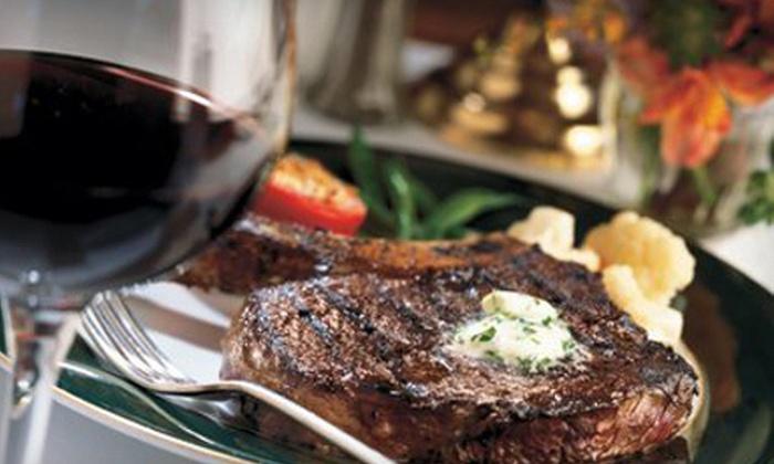 Bally's Steakhouse - Windows Showroom: $30 for $60 Toward Upscale Cuisine at Bally's Steakhouse
