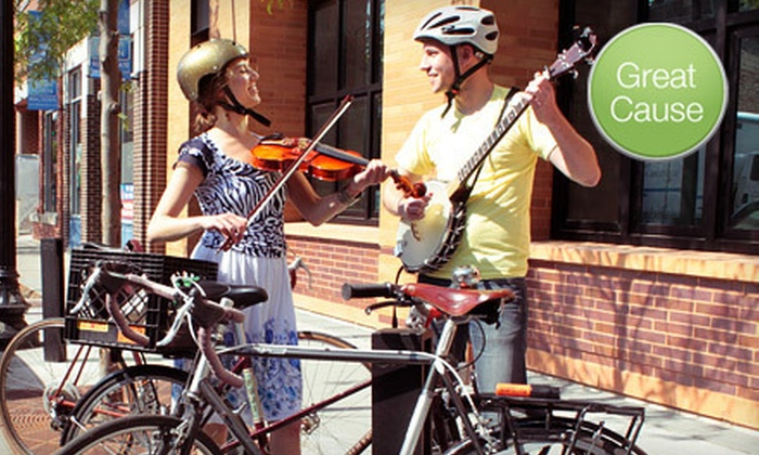 Old Town School of Folk Music - Lincoln Square: If 60 People Donate $10, Then Old Town School of Folk Music Can Pay For One Bike Rack for Students and Teachers