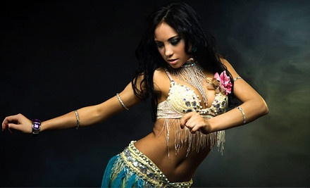 4-Class Series and a Goddess Night Workshop, Show, and Vegan Potluck for One - Belly Dancing by Najia in Ardmore