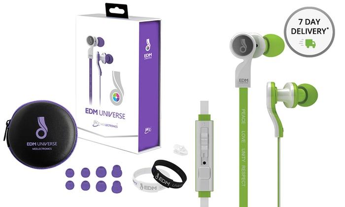 MEElectronics EDM Universe Headphones with Microphone: MEElectronics EDM Universe D1P In-Ear Headphones with Microphone. Multiple Colors Available. Free Returns.
