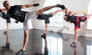 American Fighter MMA Academy: Four or Eight Les Mills BODYCOMBAT Fitness Classes at American Fighter MMA Academy (Up to 58% Off)