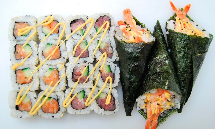Tokyo Sushi - London: All-You-Can-Eat Sushi for One, Two or Four at Tokyo Sushi