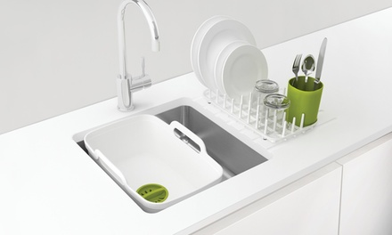 Joseph Joseph Three-in-One Wash and Drain Plus Dish Drainer