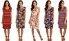 Lyss Loo Women's Plus Size Prints Charming Sleeveless Dress: Lyss Loo Women's Plus Size Prints Charming Sleeveless Dress