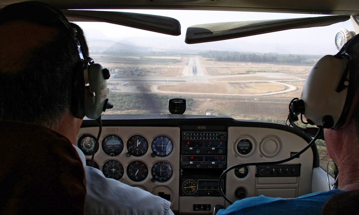 Advanced Air Incorporated - Council Bluffs: Half-Hour Discovery Flight or Ground School with One-Hour Flight at Advanced Air Incorporated (Up to 62% Off)