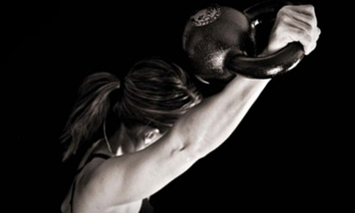 Dina Juve - FitnessSocial - Woodward Park: Five Kettlebell or TRX Group Classes, or Four Private Group Classes from Dina Juve - FitnessSocial (Up to 68% Off)