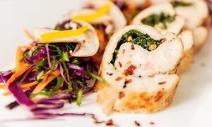 """Ristorante """"Pino"""": Italienisches 5-Gänge-Gourmet-Menü für 2 oder 4 Personen im Ristorante Pino (bis zu 45% sparen*)"""