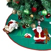 "36"" Christmas Tree Skirt with Santa"