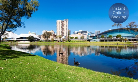 Adelaide: 13 Nights for Two with Late CheckOut and Bottle of Wine at Chifley Hotel on South Terrace