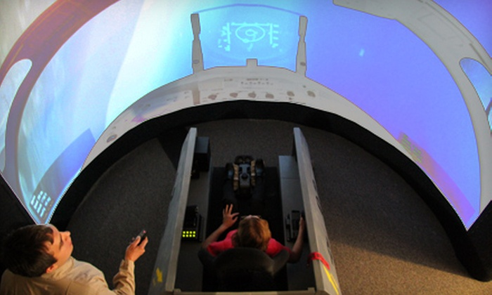 Aviation Xtreme - Lowry Field: 30-Minute Flight-Simulator Experience for One, Two, or Four at Aviation Xtreme (Up to 57% Off)