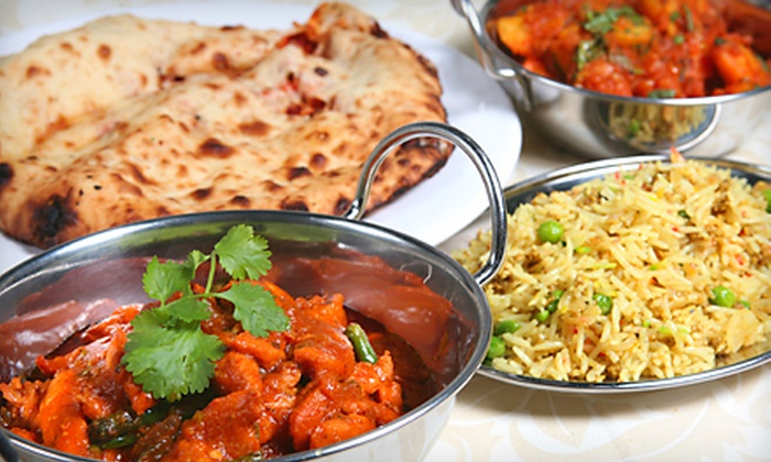Tandoori Times Indian Bistro - Multiple Locations: $25 for $50 Worth of Indian Cuisine at Tandoori Times Indian Bistro