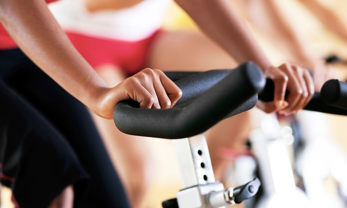 Clay Canada - Lorne Park: Five Spin and Yoga Classes or One Month of Unlimited Classes at Clay Canada (Up to 71% Off)