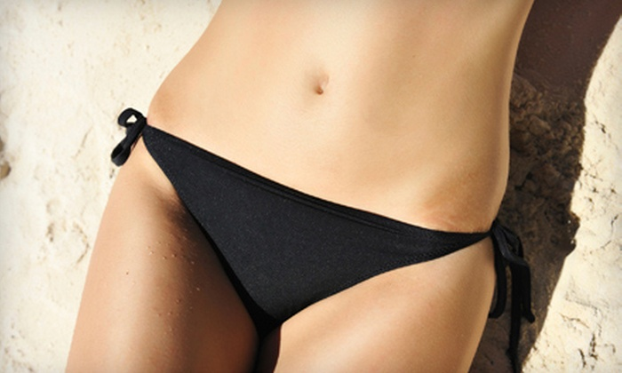 Simply Skin-Sational - Multiple Locations: One, Three, or Two Brazilian Waxes at Simply Skin-Sational (Up to 64% Off)