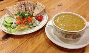 Bridge Farm Barns: Soup and Sandwich for Two or Four at Bridge Farm Barns