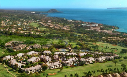 groupon daily deal - 3-Night Stay for Up to Four in at Wailea Ekolu Village or Wailea Grand Champion on Maui, HI. Combine Up to 9 Nights.
