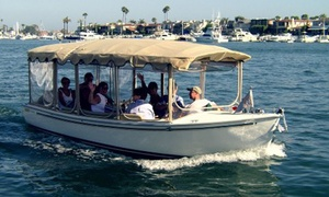 Huntington Harbor Boat Rentals: Two- or Four-Hour Electric-Boat Rental for Up to 12 from Huntington Harbor Boat Rentals (Up to 54% Off)