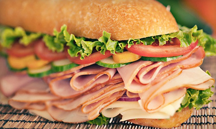 Larry's Giant Subs - Lubbock: Sandwiches and Salads at Larry's Giant Subs (Up to Half Off). Two Options Available.