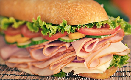 Sandwiches and Salads at Larry's Giant Subs (Up to Half Off). Two Options Available.