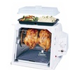 Ronco 4000 Showtime White Rotisserie Oven and Cutlery Bundle