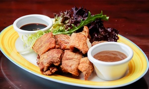 Tambayan sa Kanto: AED 100, AED 200 or AED 300 to Spend on Filipino Food and Regular House Beverages at Tambayan sa Kanto (Up to 51% Off)