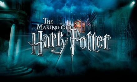 Harry Potter Studio Tour Vouchers