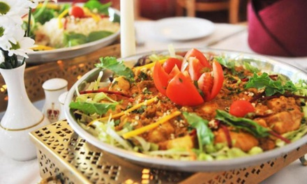 ThreeCourse Meal with Sides and Rice or Naan for Two or Four at Jewel in the Crown
