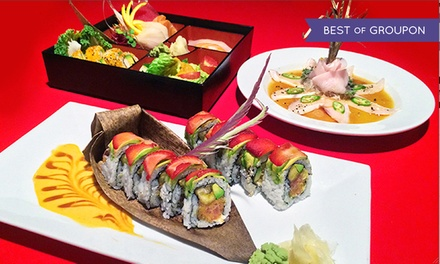 $25 for $40 Worth of Thai Food and Sushi at Red Koi Thai & Sushi Lounge