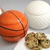 Sports-Themed Ceramic Storage Jar