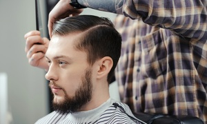 Salon Mystique: Male Haircut from R49 with Optional Scalp Massage and Beard Trim at Salon Mystique (Up to 64% Off)