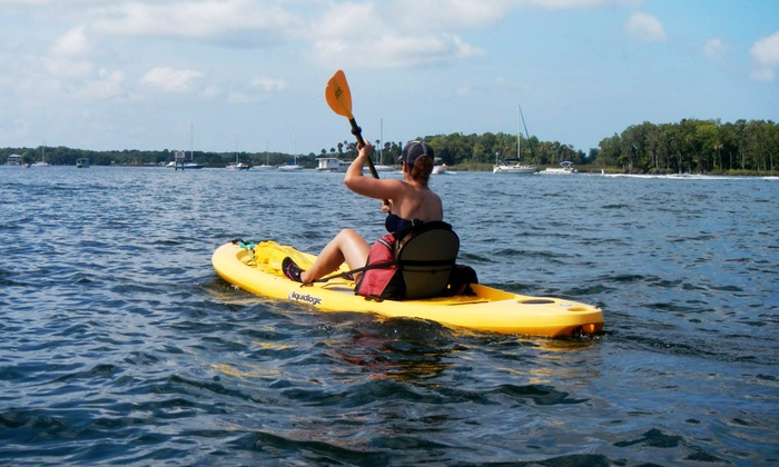 Florida Eco-Adventures, LLC: Three- to Four-Hour Guided Kayaking Tour for One or Two at Florida Eco-Adventures, LLC (Up to 53% Off)