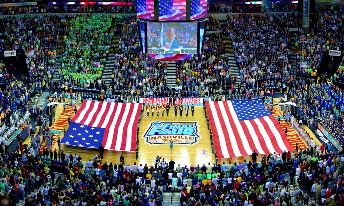 NCAA Women's Final Four - Amalie Arena - Tampa, FL: NCAA Women's Final Four at Amalie Arena on April 5 or 7 (Up to 22% Off)