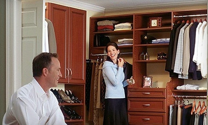 My Custom Closet - Philadelphia: Closet Makeover or Custom Cabinetry from My Custom Closet (Up to 67% Off). Two Options Available.