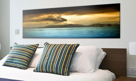 Stampa di foto panoramiche su tela con Pixquadro. Vari formati disponibili