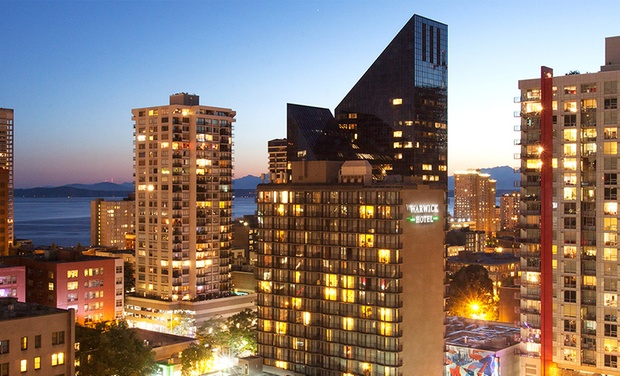 Warwick Seattle Hotel - Seattle, WA: Stay with Parking at Warwick Seattle Hotel in Seattle. Dates into January.