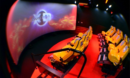 Interactive 7D Adventure-Shooting Experience for Two or Four at 7D Dark Ride Adventure (Up to 50% Off)
