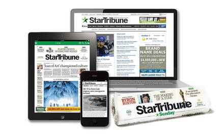 26-Week Digital Subscription or 52-Week Sunday-Edition Print Subscription from