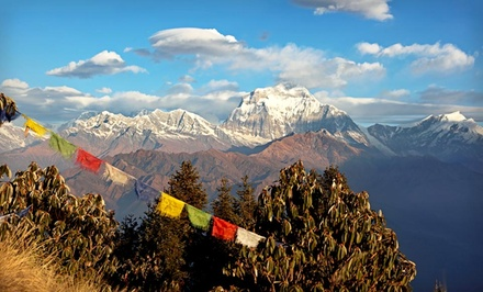 Groupon Deal: 10-Day Nepal Tour with Accommodations, Most Meals, Guides, and Yoga Classes from Bohemian Tours