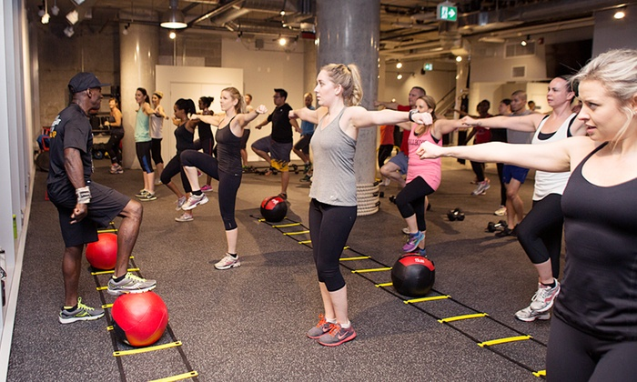 Fit Factory Fitness - Multiple Locations: C$59 for 30 Days of Unlimited Boot-Camp Classes at Fit Factory Fitness (C$299.99 Value)