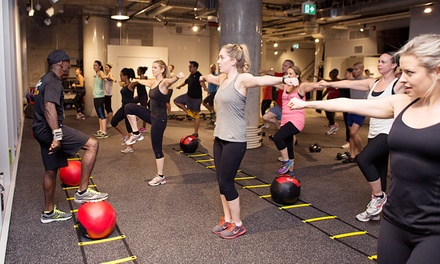 $29 for 30 Days of Unlimited Boot-Camp Classes at Fit Factory Fitness ($250 Value)